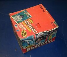 1982 FLEER STICKERS BASEBALL FULL BOX 60 UNOPENED PACKS *INV1720