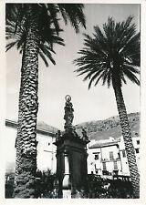 ITALIE c. 1935 -  Statue Place de la Chapelle Palatine de Palerme - DIV8254