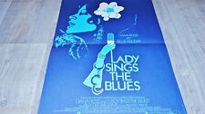 LADY SINGS THE BLUES !  diana ross  affiche cinema musique 1972