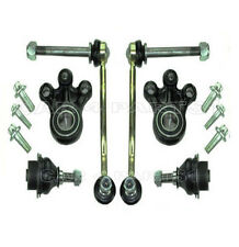 PEUGEOT 407 FRONT SUSPENSION 2 BOTTOM  LOWER ,2 UPPER  BALL JOINT & 2 DROP LINKS