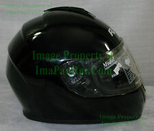 NEW RJays Dominator GLOSSY BLACK ? Medium ? Motorcycle Helmet NICE!!