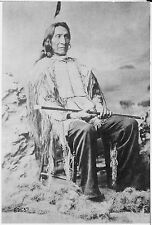 Native American Indian Lakota Chief Red Cloud 7x5 Inch Reprint Photo
