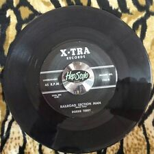 DOSSIE TERRY 45 RE-YOU WILL BE MINE/RAILROAD SECTION MAN- 50s XTRA R&B POPCORN