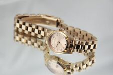 Marc Jacobs Ladies Small Rose Gold Watch.