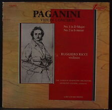 TURNABOUT TV-S 34527 PAGANINI - VIOLIN CONCERTI NOS. 1&2 RICCI /COLINS / LSO US