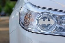Headlight Etched Glass Look Decal (Batman) Ford, Chevy, Dodge - Set of 2