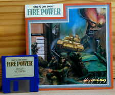 ★★ RAR ★ FIRE POWER ★ Commodore Amiga 500 Disk sgZ VGC Collectors Item ★ TOP ★★