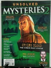 Unsolved Mysteries 2 Crying Blood The Virgin Mary Statue Ghosts FREE SHIPPING sb