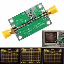 1-2000MHz 2Ghz Low Noise LNA RF Broadband Amplifier Module 30dB HF VHF/UHF