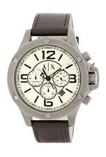 Armani Exchange AX1519 Wellworn Chronograph Taupe Dial Mens Watch. $220