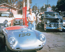 James Dean Car Poster! Porsche Classic Ride Iconic Actor Never Hung New!