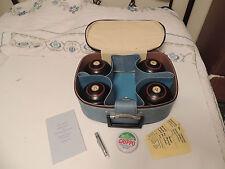 Vintage TOWNSEND & CLARK CHAMPION Lawn Bowling Ball  Bocce SET Case BIAS 3 917
