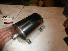 Harley Softail Hardtail Chopper Reserve Oil Tank New Stainless Steel
