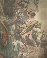 K0701 Una tragica prigione_Incidente nave Ardeole - A. Beltrame - Stampa antica
