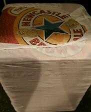 NEWCASTLE BROWN ALE BEER MATS / COASTERS (x1000) - NEW / SEALED PACKS OF 100