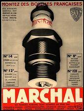 CANDELE MARCHAL AUTO SPORTIVE MODELLI 1931