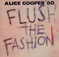 ALICE COOPER Flush The Fashion 1980 UK Vinyl LP EXCELLENT CONDITION