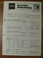 Radio Music-Boy 100 Grundig Service Manual Serviceanleitung