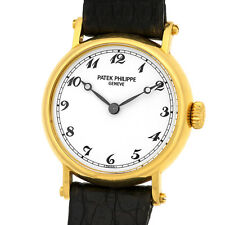 PATEK PHILIPPE 18K Yellow Gold Lady Officer Calatrava 4860 J Warranty Mechanical