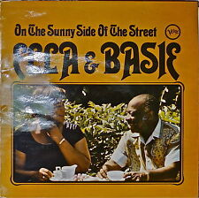ELLA & BASIE: On the Sunny Side of the Street-1963LP UK IMPORT Arr. QUINCY JONES