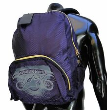 Alpinestars Biker Purple Womens Girls Backpack School Bag