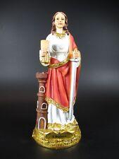 Heilige Barbara,Heiligenfigur,Madonna,20 cm,Schutzpatron Bergleute Feuerwehr,NEU