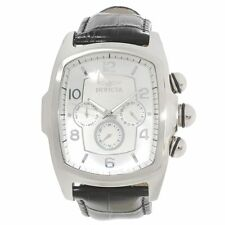 Invicta 16054 Men's Silver Dial Interchangeable Leather Band Watch