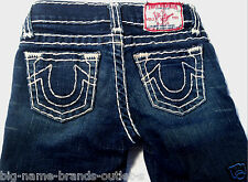 EUC - AS NEW - RRP $169 - Girls Stunning True Religion 'BOBBY SUPER T' Jeans