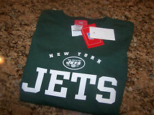 NWT - NFL - NEW YORK JETS - LS COTTON TEE - L - OFFICIALLY LICENSED PRODUCT