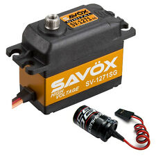 Savox SV-1271SG Monster Torque High Voltage Steel Gear Digital Servo + Glitch