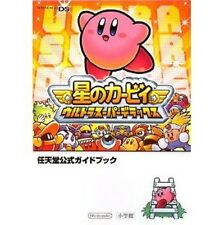 Kirby Super Star Ultra official guide book /DS
