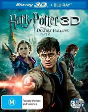 Harry Potter And The Deathly Hallows - Part 2 3D : NEW Blu-Ray 3-D