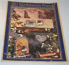 Briarpatch Between Friends Susan Scheewe Decorative Tole Folk Art Painting Book