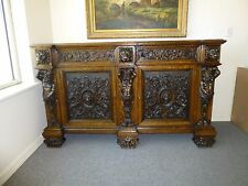 Antique R. J. Horner sideboard solid oak