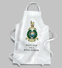 Royal Marines Globe and Laurel BBQ Apron KEEP CALM