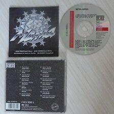 CD ALBUM METAL MANIA - COMPILATION JUDAS PRIEST ALICE COOPER MOTORHEAD
