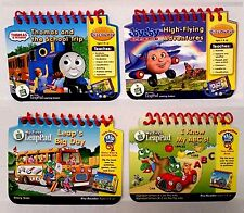 Lot 4 LeapPad Leap Frog Books Thomas Train JayJay Plane ABCs Big Day NO Tablet