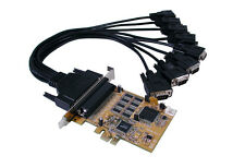 Exsys EX-44088 - PCI-Express Mapa 8x Serial RS-232, SystemBase conjunto de chips