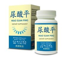 Niao Suan Ping Herbal Supplement Promotes Healthy Uric Acid Levels Made in USA