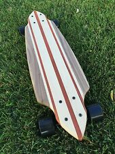 "Mini Cruiser Skateboard - Santa Monica Red ""Mini Croozer"""