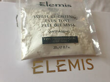 Elemis 1 White Brightening Even Tone Peel Off Mask 20g  Anti Ageing  * Quick D *