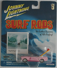 "Johnny Lightning -'65/1965 ford mustang convertible rosa ""surf Rods"" nuevo/en el embalaje original"