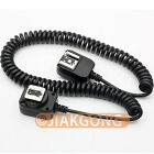 3M 3 meter i-TTL Off Camera FLASH sync Cable Cord for Nikon D7000 D5200 SB 910
