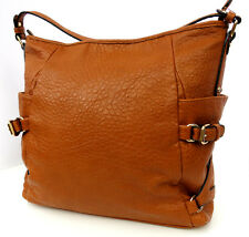 Big Buddha Handbag Purse Hobo Women Cognac Reddish Brown Large Bag