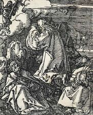 Albrecht Durer German 1471-1528 The Agony in the Garden Woodcut  Small Passion