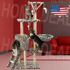 """55"""" Deluxe Cat Tree Tower Condo Furniture Scratch Post Kitty Pet Play House NEW"""
