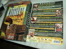 """COFFRET 5 DVD """"WESTERNS : T'AS LE BONJOUR DE TRINITA / LES RAVAGEURS DE L'OUEST"""