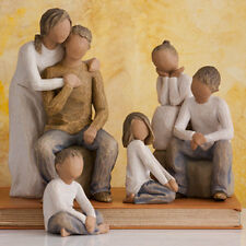 Willow Tree Parents with 4 Children Figurine Gift Set     23619