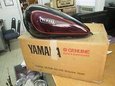 Yamaha Urushi Black Petrol Gas Tank Fuel Tank 1989 1990 XV750 1RV-24110-00-X1