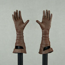 1/6 Scale Phicen Stainess Steel Red Sonja Female Leather Glove Open Hand Set